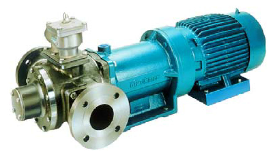 Magnetic-drive-vane-pump